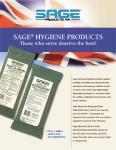 SAGE Rinse free Body Cleaning
