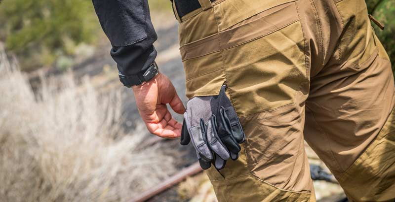 HELIKON-TEX HYBRID TACTICAL PANTS® POYCOTTON RIPSTOP