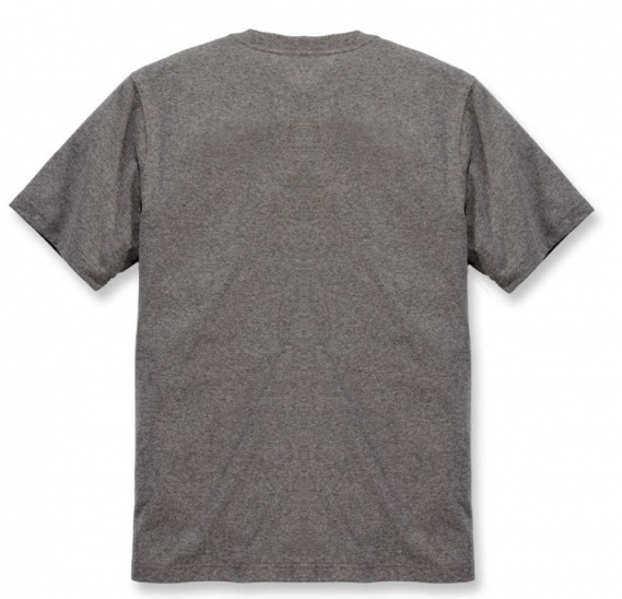 CARHARTT C-LOGO GRAPHIC T-SHIRT GRANITE