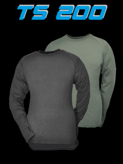 ThermoFunktion TS200 Long Sleeve OLIVE