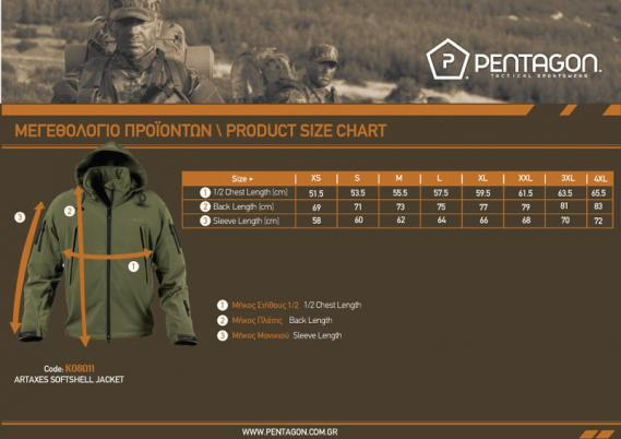 pentagon softshell jacke artaxes in schwarz
