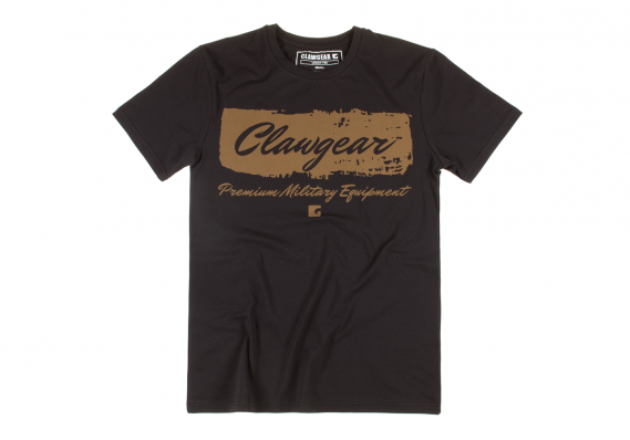 CLAW GEAR T-SHIRT HANDWRITTEN TEE SCHWARZ