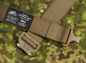 HELIKON TEX COBRA TACTICAL BELT FC45 COYOTE MEDIUM/120CM