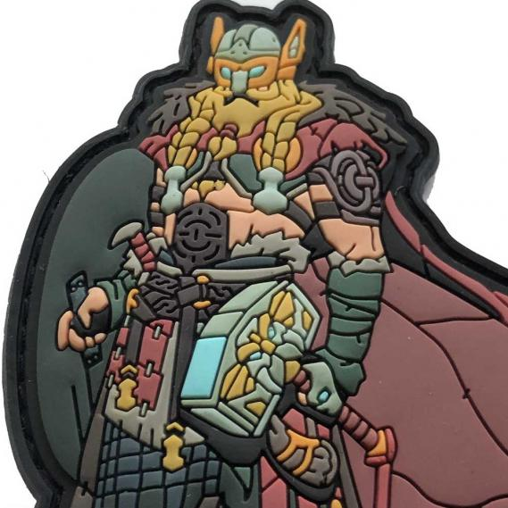 MORALE PATCH THOR GOD OF THUNDER VIKING WIKINGER PATCH