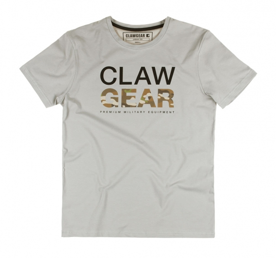 CLAW GEAR T-SHIRT Light-Grey
