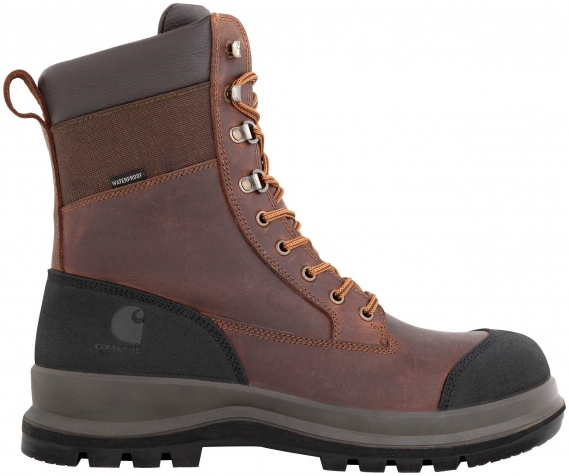 CARHARTT STIEFEL DETROIT RUGGED FLEX® WATERPROOF INSULATED DARK BROWN