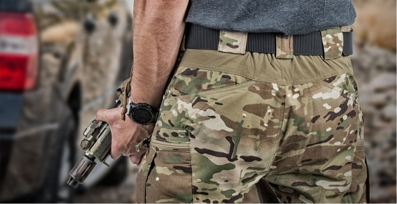 HELIKON TEX URBAN TACTICAL PANTS UTP FLEX NYCO MULTICAM