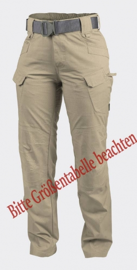 HELIKON TEX WOMAN URBAN TACTICAL PANTS KHAKI