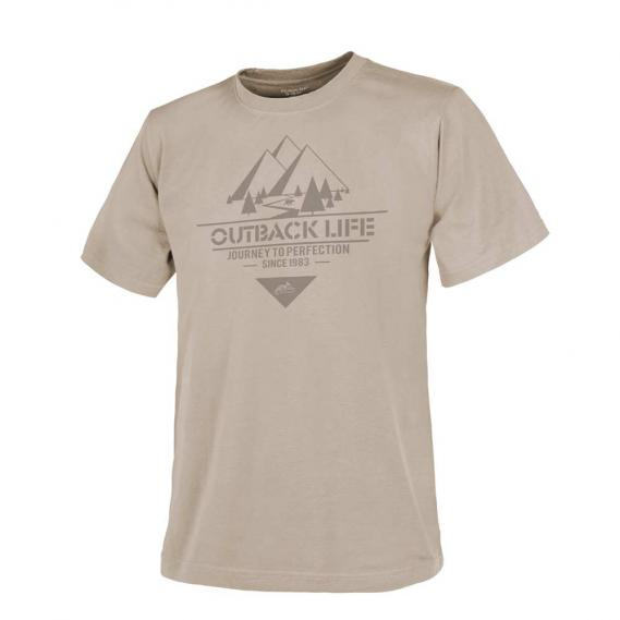 HELIKON-TEX T-SHIRT HOME SWEET HOME KHAKI