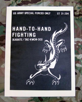 US ARMY SPECIAL FORCES MANUAL MIL. NAHKAMPF