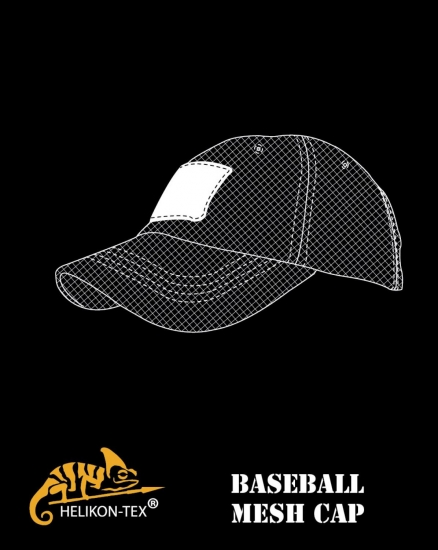 HELIKON TEX TACTICAL BASEBALL MESH CAP COYOTE