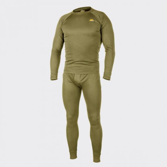 HELIKON-TEX BASELAYER UNTERWÄSCHE SET LEVEL1 OLIVE