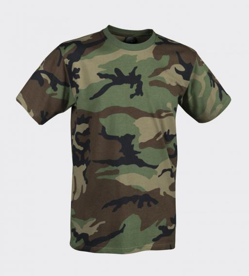 HELIKON TEX T-SHIRT US WOODLAND