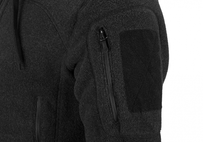 CLAW GEAR MILVAGO FLEECE HOODIE SCHWARZ