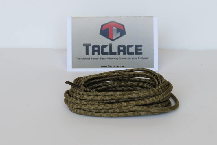 "TACLACE LACES 84"" COYOTE"