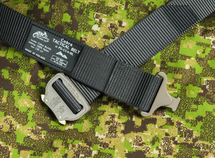 HELIKON TEX COBRA TACTICAL BELT FC45 SHADOW-GREY MEDIUM/120CM