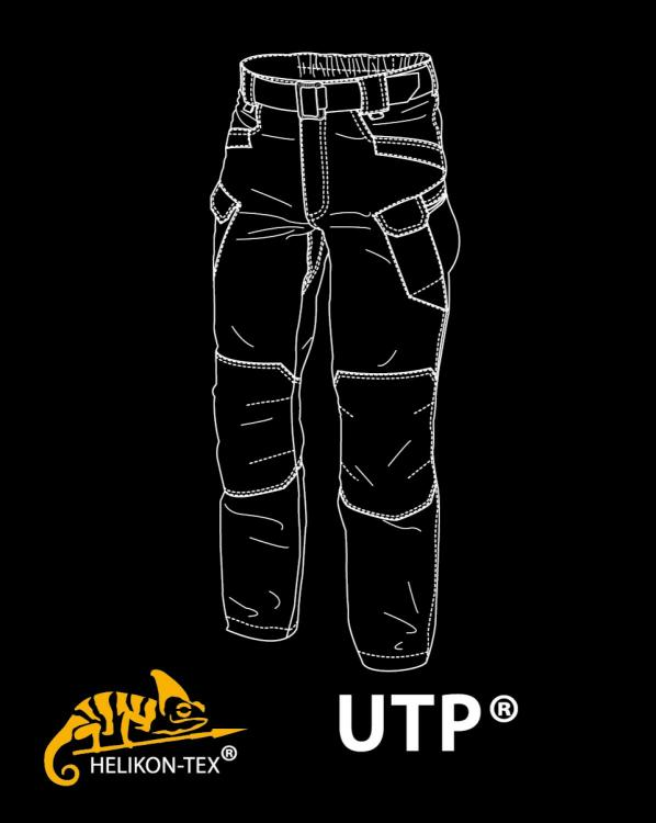 HELIKON TEX URBAN TACTICAL PANTS HOSE UTP RIPSTOP NAVY-BLUE
