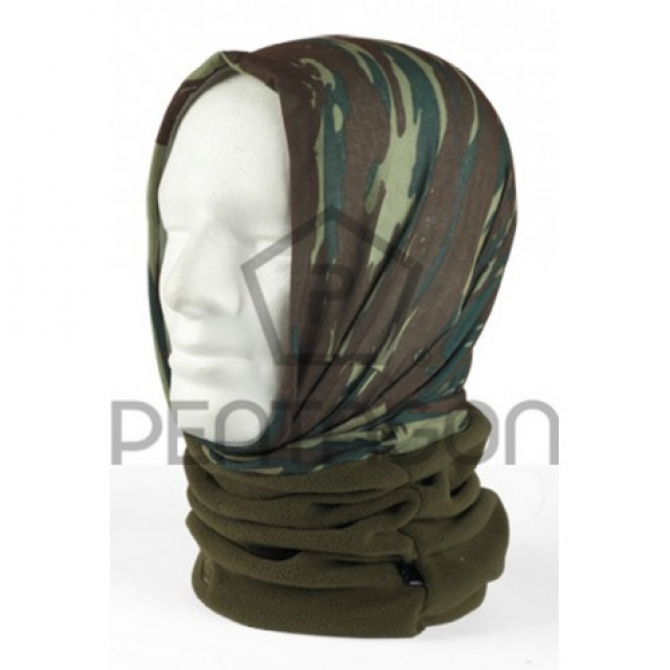 PENTAGON WINTER NECK SCARF SAGE 1/2 FLEECE