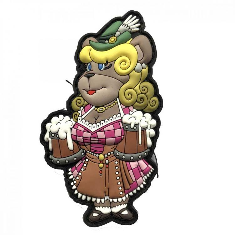 MORALE PATCH BEARVARIAN GRETCHEN PINK