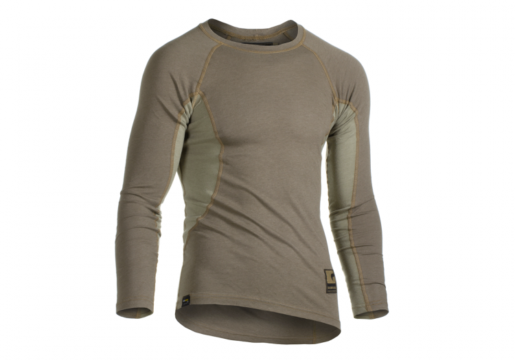 CLAW GEAR BASELAYER SHIRT LONG SLEEVE SANDSTONE I.GENERATION