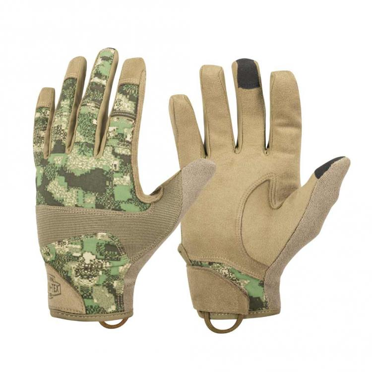 HELIKON-TEX RANGE TACTICAL GLOVES HARD® PENCOTT® WILDWOOD®/COYOTE