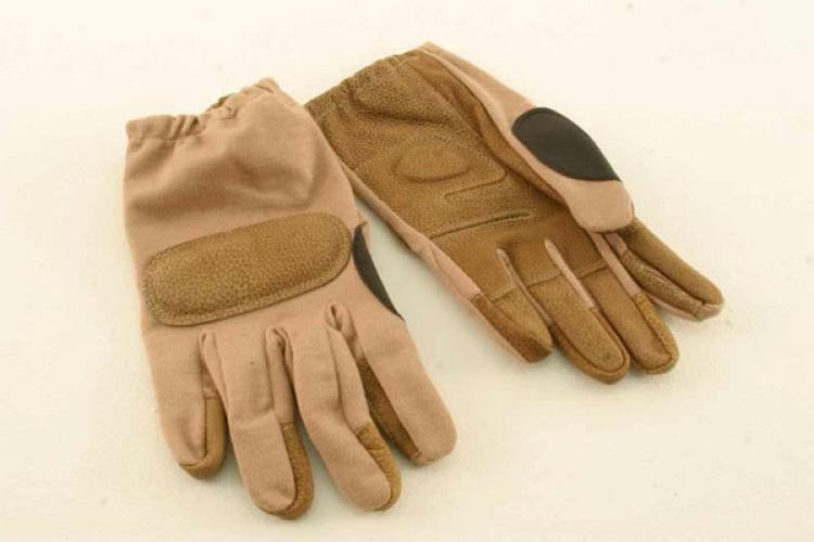 SHORTY OPERATORS HANDSCHUH SAND