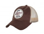 HELIKON-TEX MESH TRUCKER LOGO CAP MUD BROWN