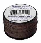 MICRO CORD PARACORD 125 Ft. US BROWN