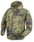 HELIKON -TEX CLIMASHIELD APEX LEVEL 7 JACKE FLECKTARN